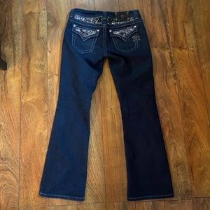 Gorgeous Miss Me boot jeans, like new